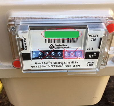 1 Gas meter with AGN logo clearly showing v2